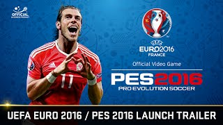 official uefa euro 2016pes 2016 30 second launch trailer