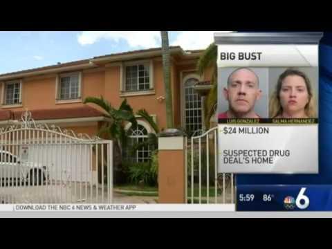 LARGEST marijuana drug bust in Florida history .Over 24 million in cash seized