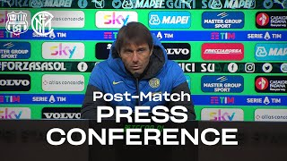 "SASSUOLO 0-3 INTER | ANTONIO CONTE POST-MATCH PRESS CONFERENCE ""Results affect judgements"" [SUB ENG]"