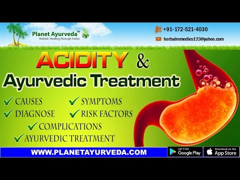Acidity (Amlapitta) Treatment in Ayurveda - Causes, Symptoms & Risk Factors