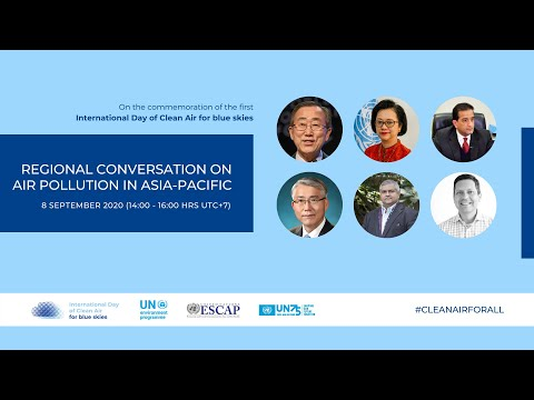 Regional Conversation on Air Pollution in Asia-Pacific