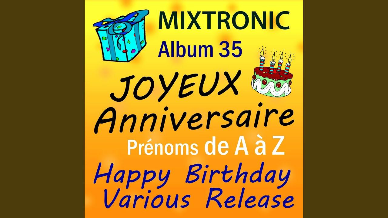 Happy Birthday Feliz Cumpleaños Bon Anniversaire ~ Joyeux anniversaire salsa youtube