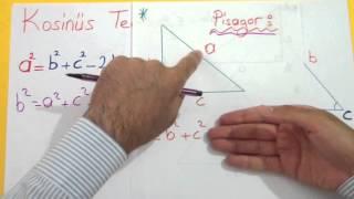 Trigonometri 10 (Üçgende Trigonometrik Bağıntılar) Şenol Hoca Matematik