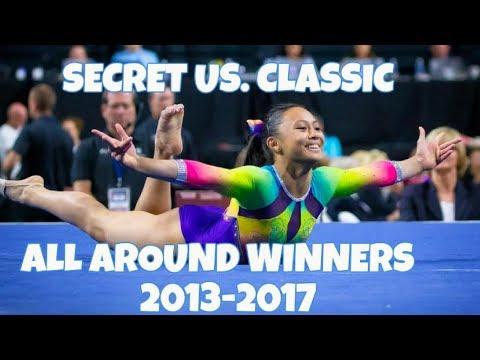 Secret US. Classic Junior Winners 2013-2017