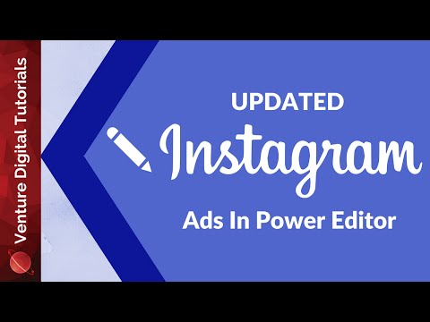 Create Instagram Ads Using Facebook Power Editor (Full Walkthrough) - 2016 How To Updated