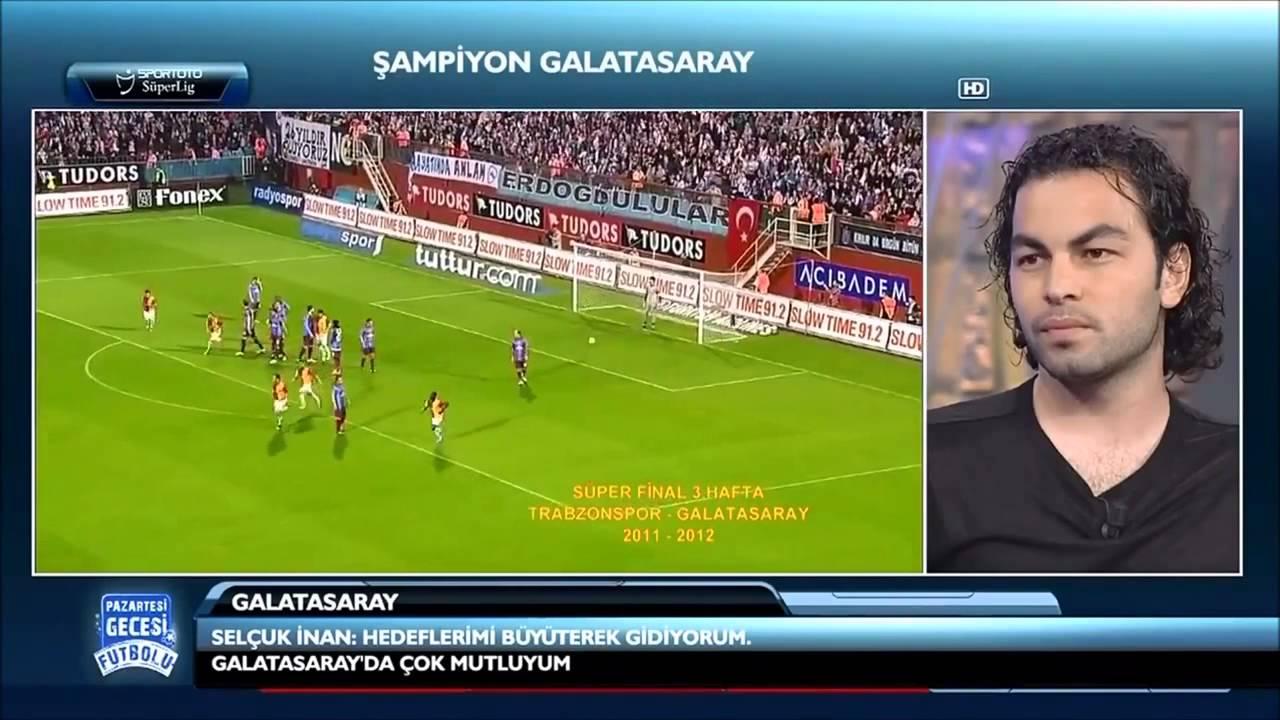 Türkiye nin En İyi Frikikçisi Selçuk İnan 2012-2013 Frikik Golleri Karşınızda.