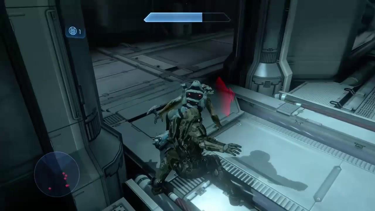 Halo 2 jackals in legendary be like - YouTube