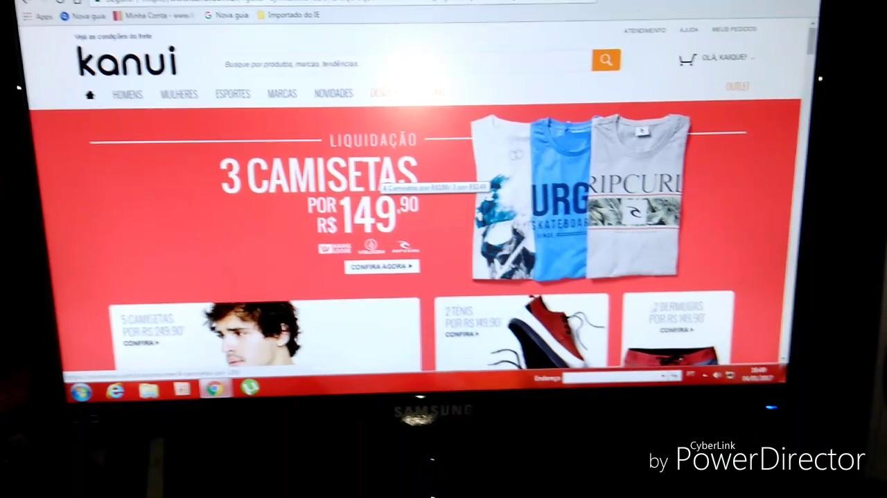 83416e68e5b3e Como comprar na kanui - YouTube