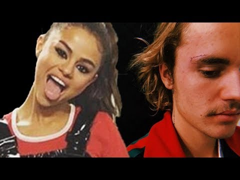 Justin Bieber REVEALS Face Tattoo! Selena Gomez Surrounded By Bad Influences!