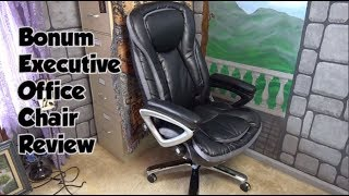 Bonum Executive Leather Chair - Big And Tall - REVIEW And Assembly