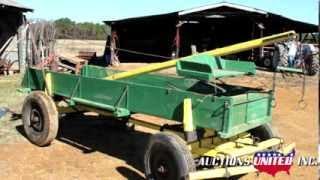 Patterson Estate- Lot 44- Antique Two Horse  Wagon