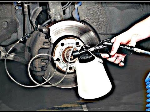How to change / bleed the BRAKE FLUID