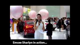 Singapore Emcee - Sharlyn Lim - KIA Car Launch (With Contact)