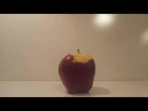 Self Peeling Apple