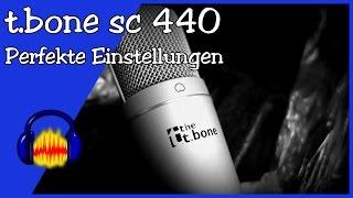 t.bone sc440 - Perfekte Einstellungen [Audacity + Windows]