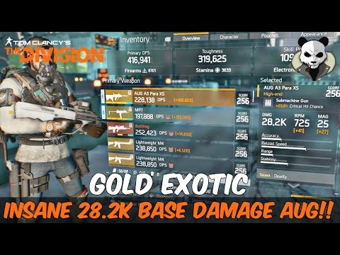 The Division 1.6 - THE HIGHEST RAW DAMAGE BUILD TO DATE! GOLD EXOTIC on STEROIDS!!