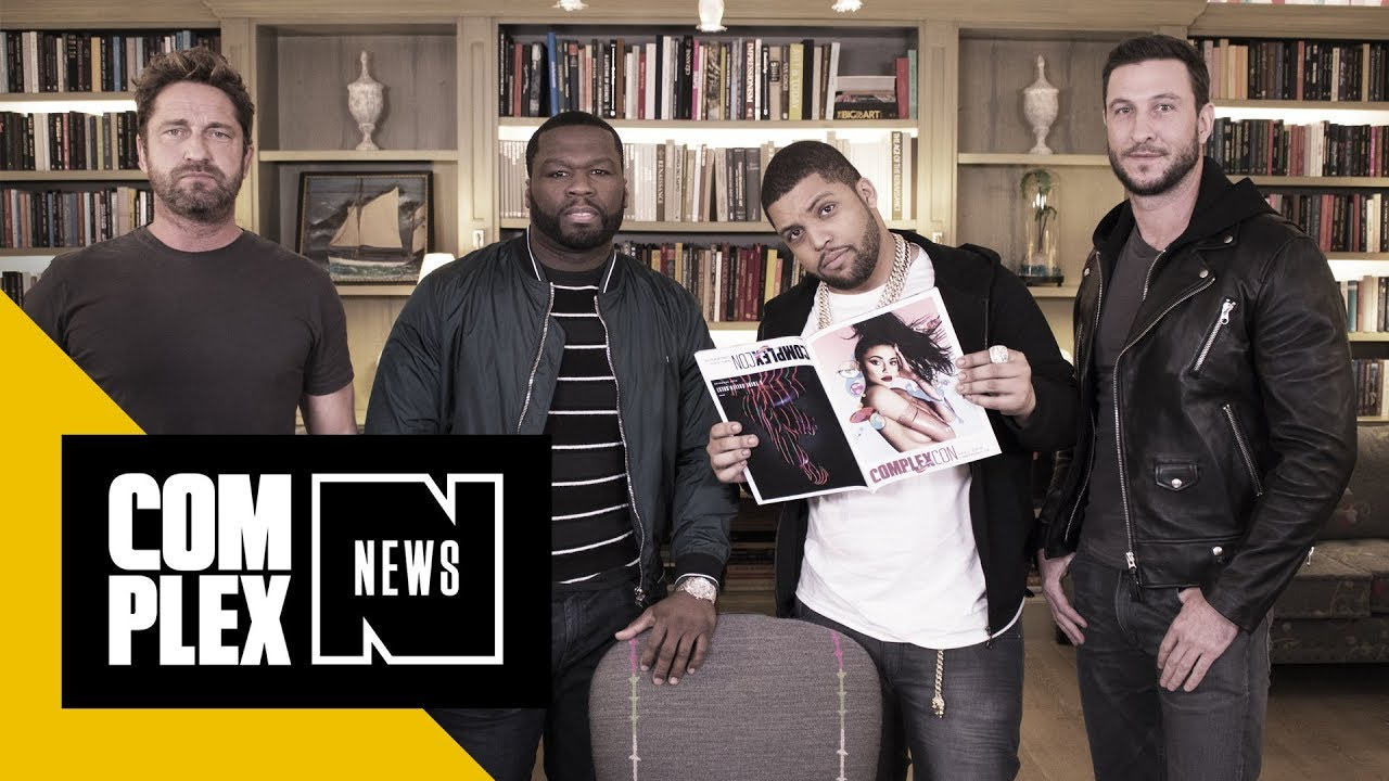 50 Cent And The Cast Of Den Of Thieves Talk Intense Training Why They Love The Film Youtube