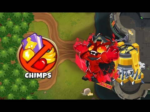 Dark Castle CHIMPS v90 - This Combo Can Beat 90%+ Of CHIMPS Maps - Bloons TD 6