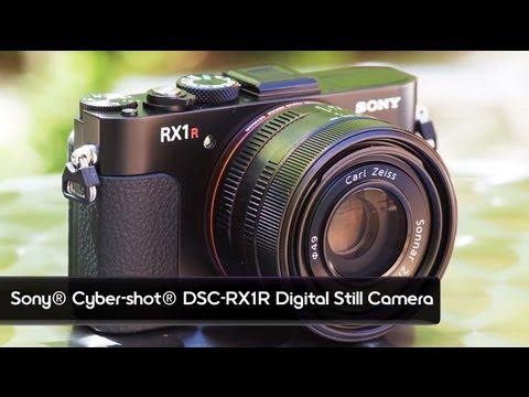 EXCLUSIVE: New Cyber-shot® RX1R full-frame compact camera - YouTube