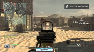 GUN GAME ON MW2 MOD(PS3)