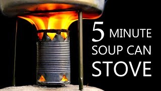 How To Make A Soup Can Stove