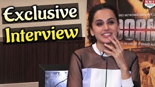Exclusive Interview|Tapsee Pannu| Soorma| Diljit Dosanjh