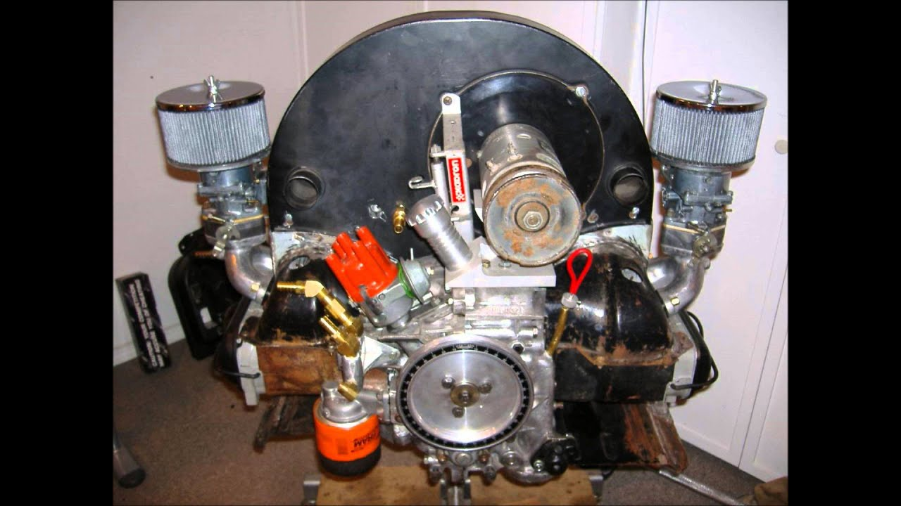 Vw Type 4    Porsche 914 Engine Installed In 1971 Karmann