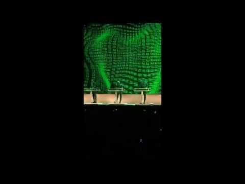 Kraftwerk - Numbers / Computer World - Argentina 2016
