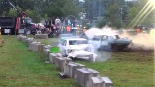 2012 Pictou Exhibition Rear Wheel Drive Demolition