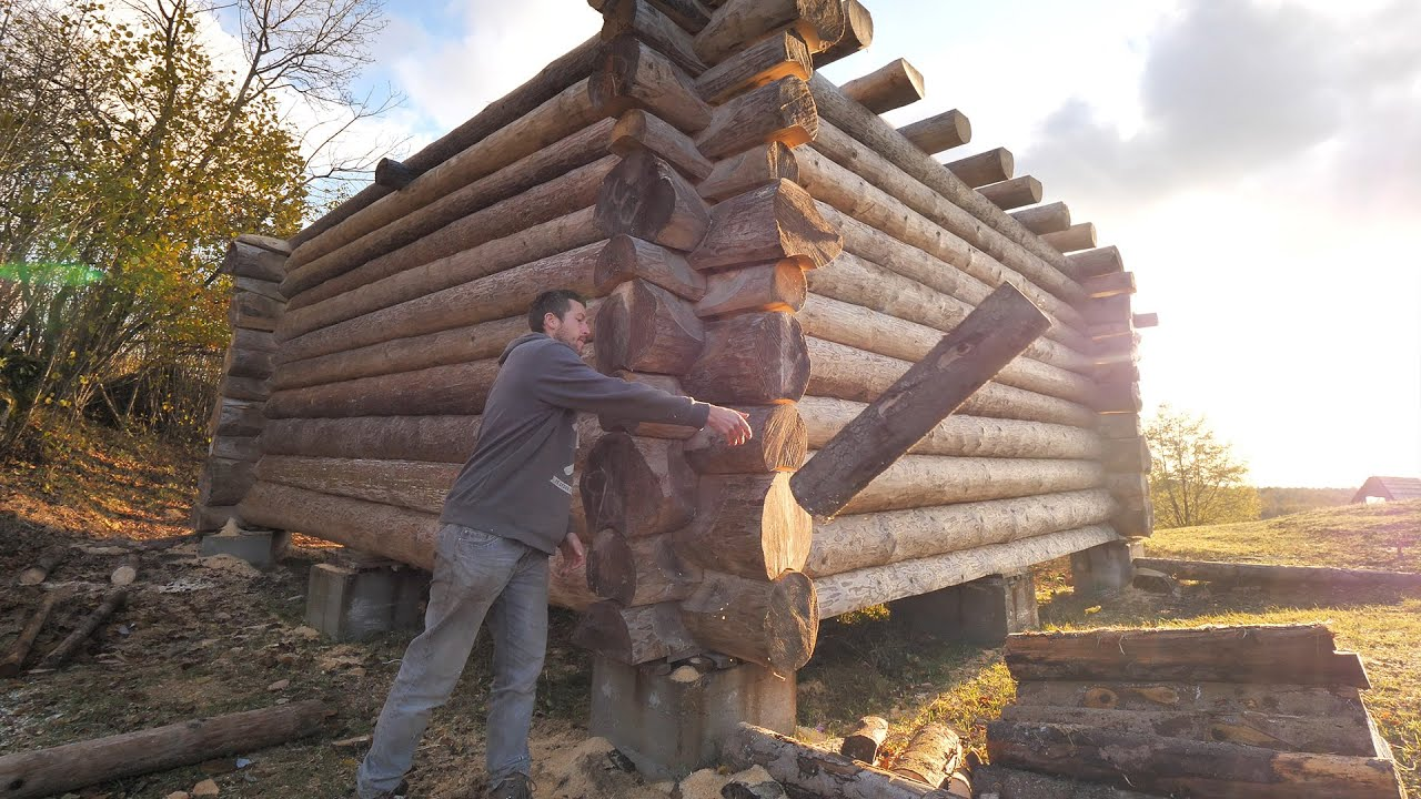 Building Off Grid Log Cabin S 2 Ep 1 Starting A New Chapter Youtube