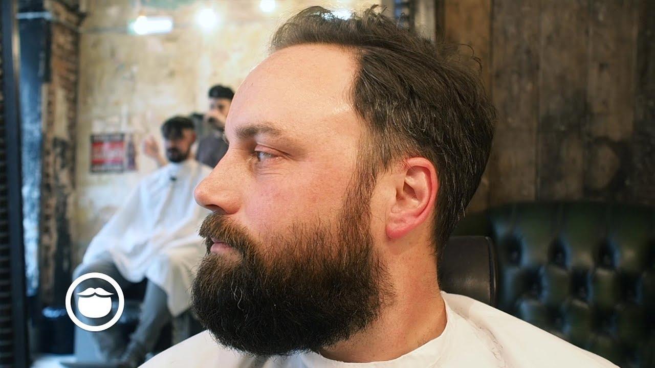 Low Maintenance Beard Trim With Natural Shape Youtube