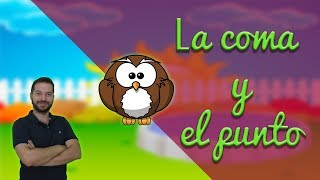 (0.10 MB) EL punto y la coma.  Lengua en primaria. Aprendo y me divierto con Miguel y sus amigos Mp3