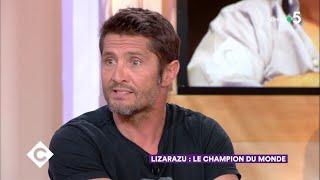 Lizarazu : le champion du monde sort un livre - C à Vous - 24/05/2018