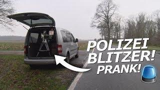 POLIZEI BLITZER PRANK GEHT SCHIEF!