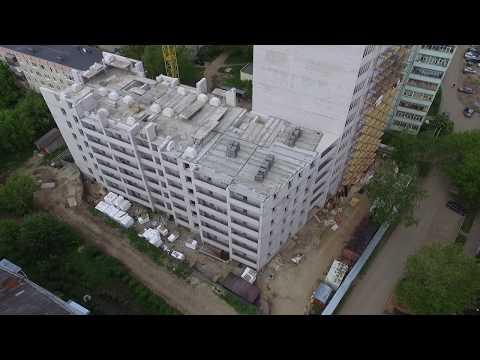 ЖК «Майский», ул. 5-я Первомайская, г. Иваново (фасад)