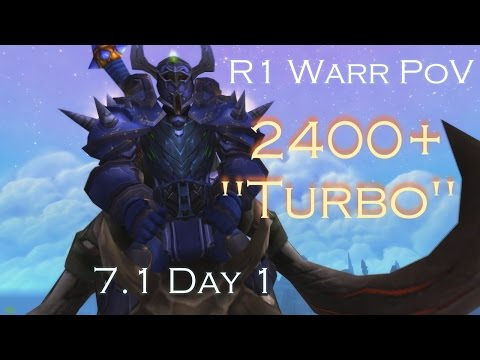 "7.1 | 2400+ ""Turbo"" R1 Warr PoV!"