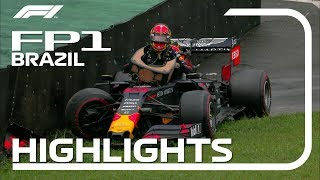 2019 Brazilian Grand Prix: FP1 Highlights