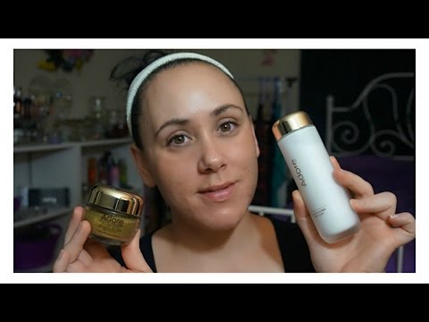 Adore Cosmetics Luxury Skincare Review and Demo