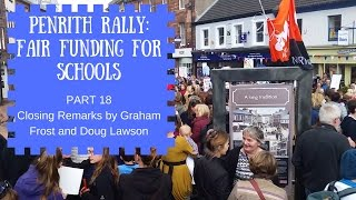 18   schools just wanna have funds closing remarks by graham frost and doug lawson