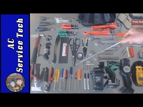 HVAC Basic Tools of the Trade - Don't Break the Bank!