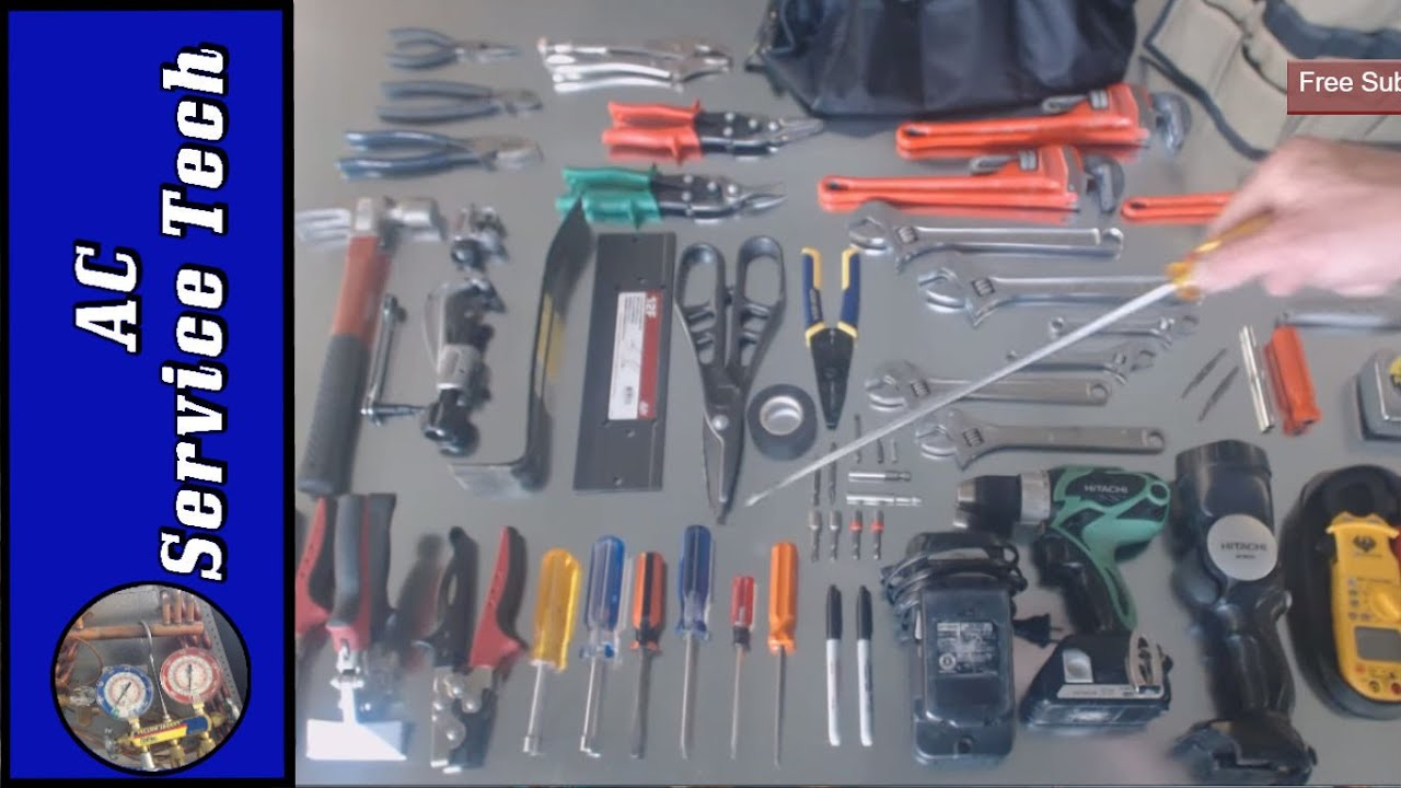 Hvac Basic Tools Of The Trade Don T Break The Bank Youtube