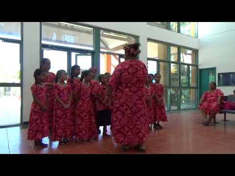 Welcome song 歡迎歌  -Tuvalu Nauti Primary School, Vision Children's Choir