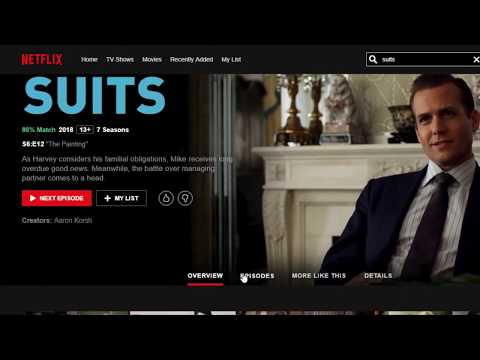 How To Watch Suits - ALL EPISODES (Incl. Season 9) On Netflix - 2019