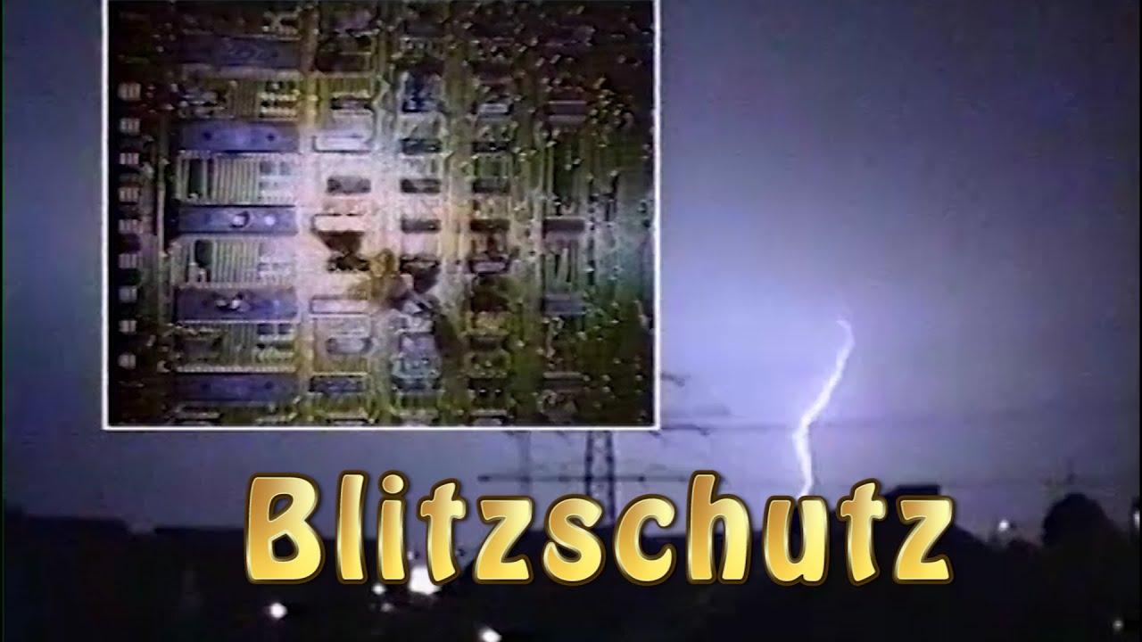 Blitzschutz, Blitzschutzbau, Überspannungsschutz, Erdung - YouTube