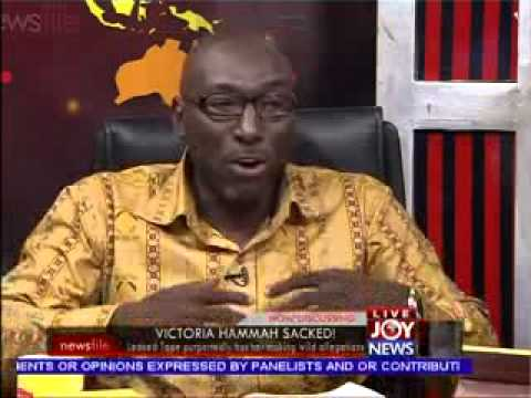 Victoria Hammah's Leaked Tape - Newsfile on Joy News (9-11-13) Travel Video