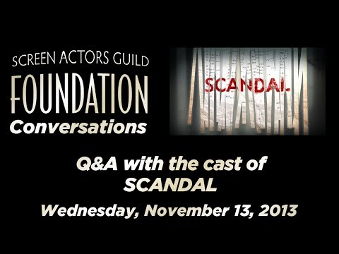 Conversations with Cast of SCANDAL