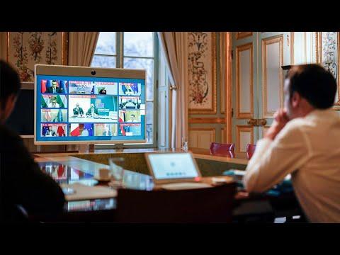 Coronavirus: déclaration du Président Emmanuel Macron à l'issue du Conseil européen
