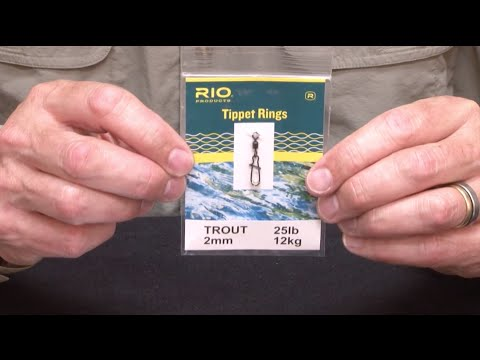 Rio fly fishing tippet rings youtube for Fly fishing tippet