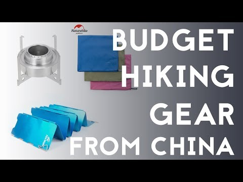 Budget Hiking Gear From China #1