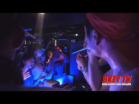 BKEY TV - PALOALTO,BEATBOX DG,Huckleberry P in HILITE 3rd anniversary Party